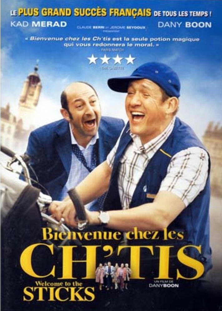 """Superfilm: """" Welkom bij de Ch'tis"""""""
